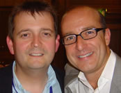 A photo of Geoff Rolls with Paul McKenna
